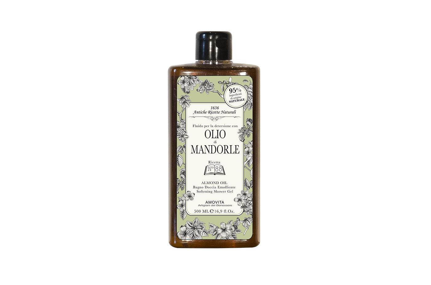 bagno doccia olio mandorle
