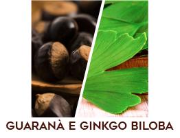 Guaranà e Ginkgo Biloba