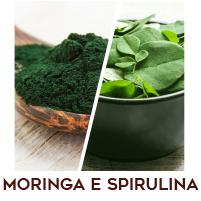 Alga Spirulina e Moringa