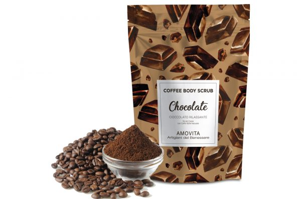 coffee body scrub cioccolato