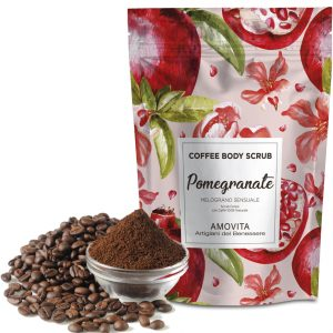 coffe body scrub melograno