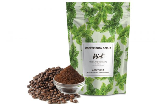 coffee body scrub menta