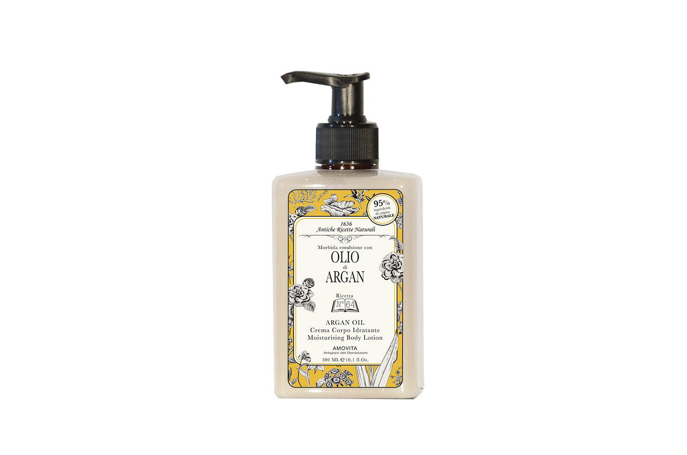Bagno Idratante Naturale : Crema corpo idratante olio di argan amovita artigiani del